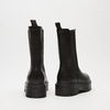 bottines chelsea à plateforme bata, Noir, 591-6489 - 17