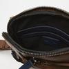 sac à bandoulière à trois fermetures éclair bata, Brun, 961-3366 - 17