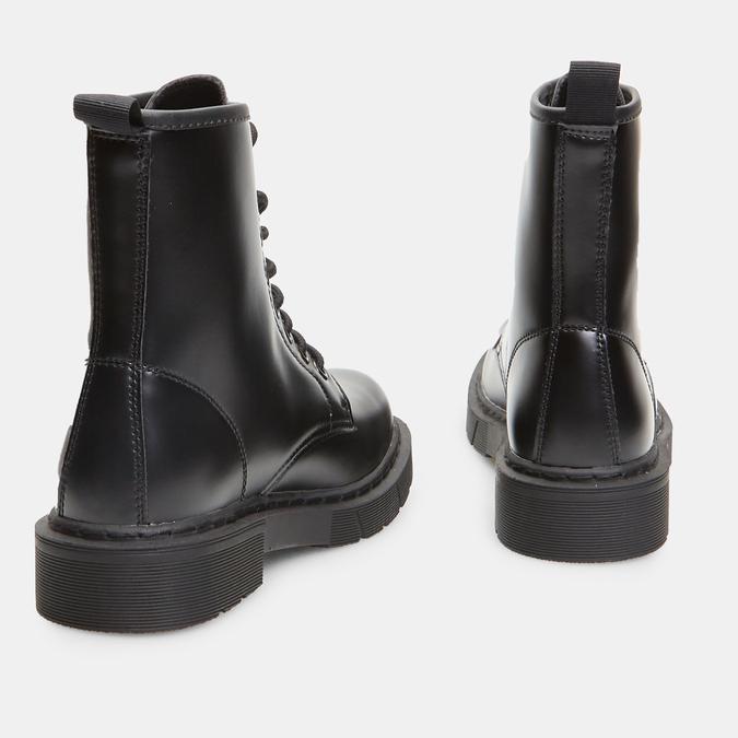 bottines à semelles style track femme bata, Noir, 591-6506 - 16