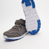baskets à lacets et fermeture éclair garçon bata, Gris, 319-2364 - 17