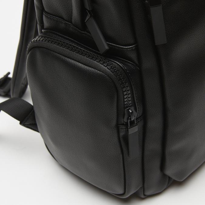 sac à dos à poches latérales bata, Noir, 961-6488 - 16