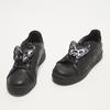 baskets plates fille bata, Noir, 311-6365 - 26