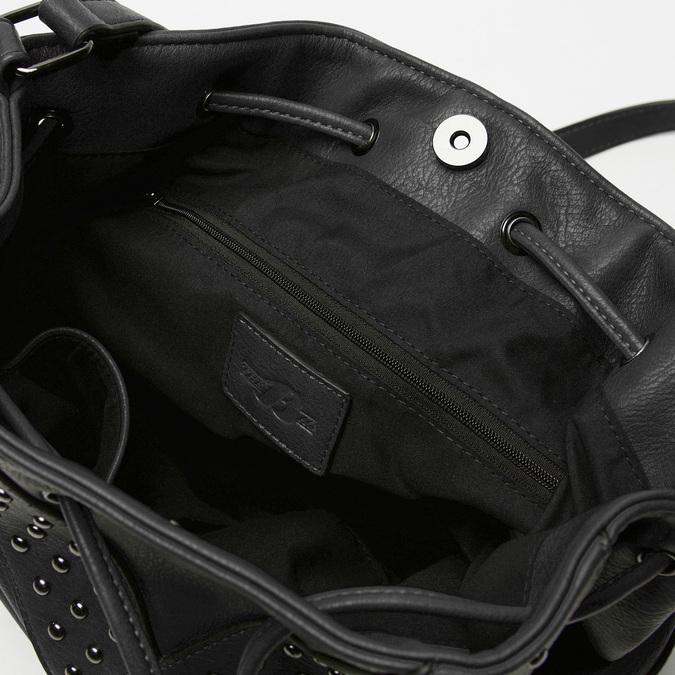 sac bucket clouté bata, Noir, 961-6149 - 17