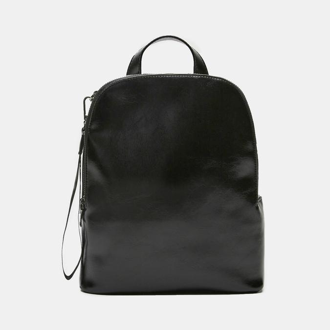 sac à dos à effet brillant bata, Noir, 961-6155 - 13