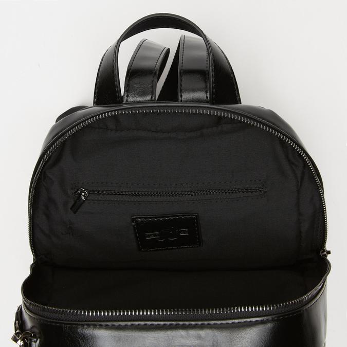sac à dos à effet brillant bata, Noir, 961-6155 - 17