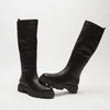 combat boots à semelles track bata, Noir, 591-6564 - 19