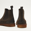 bottines chelsea à piqué brogue bata, Brun, 893-4807 - 19