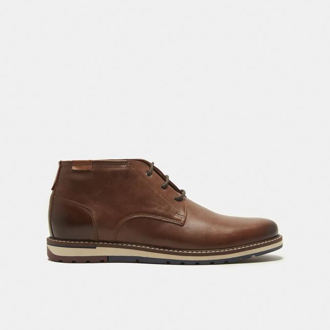 chaussures en cuir homme bata, Brun, 824-4121 - 13