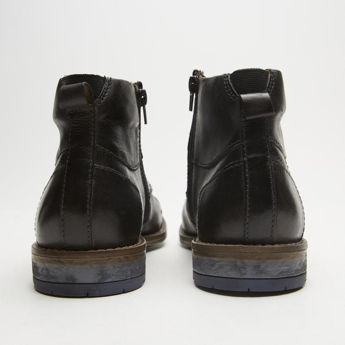bottines en cuir homme bugatti, Gris, 894-2359 - 17