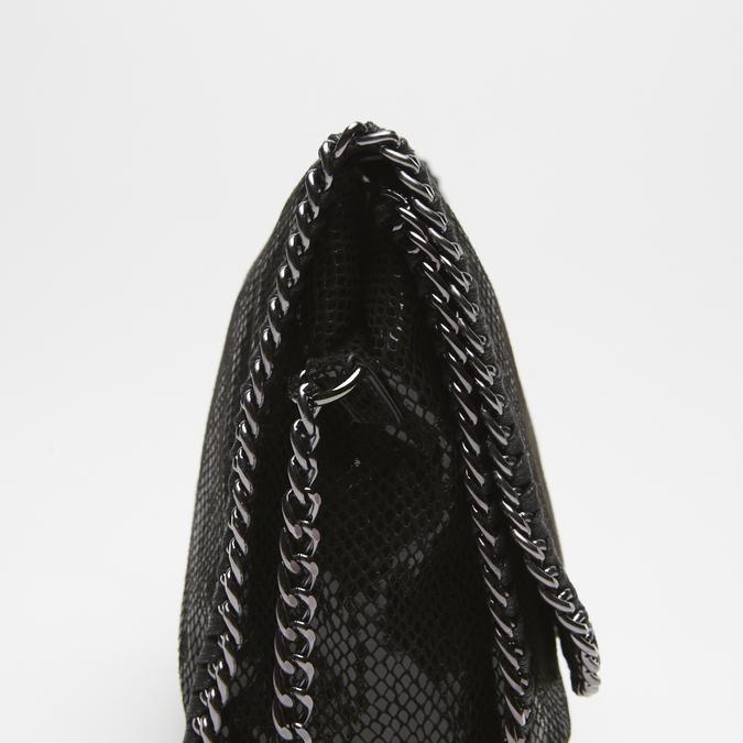 Sac à bandoulière en tissu bata, Noir, 969-6112 - 16
