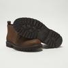 Desert boots en nubuck à semelle effet track bata, Brun, 896-3277 - 19
