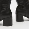 bottes à talons larges bata, Noir, 791-6820 - 15