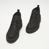 Desert boots en nubuck à semelle effet track bata, Noir, 896-6277 - 26