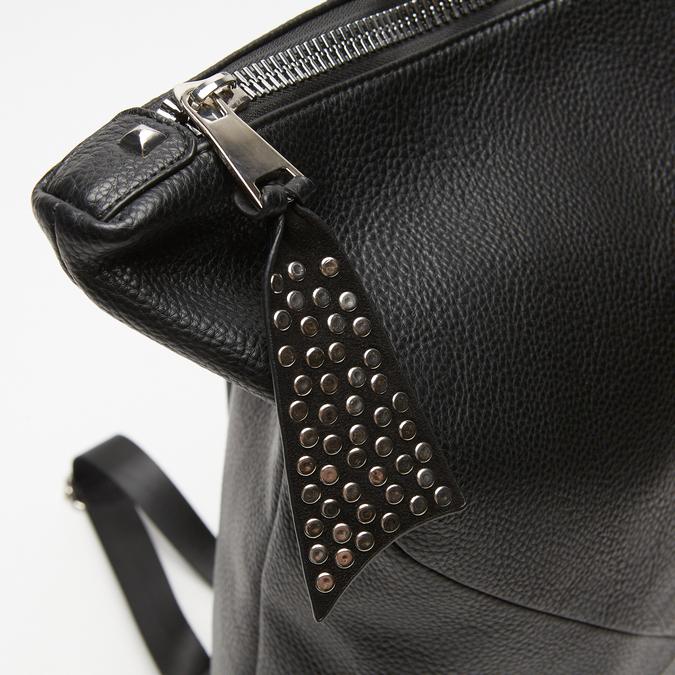 sac à dos à détails cloutés femme bata, Noir, 961-6478 - 26