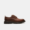 chaussures basses brogue en cuir à semelle track bata, Brun, 824-4226 - 13