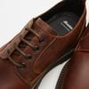 chaussures basses brogue en cuir à semelle track bata, Brun, 824-4226 - 16