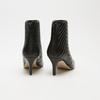 bottines pointues à effet matelassé bata, Noir, 791-6796 - 15