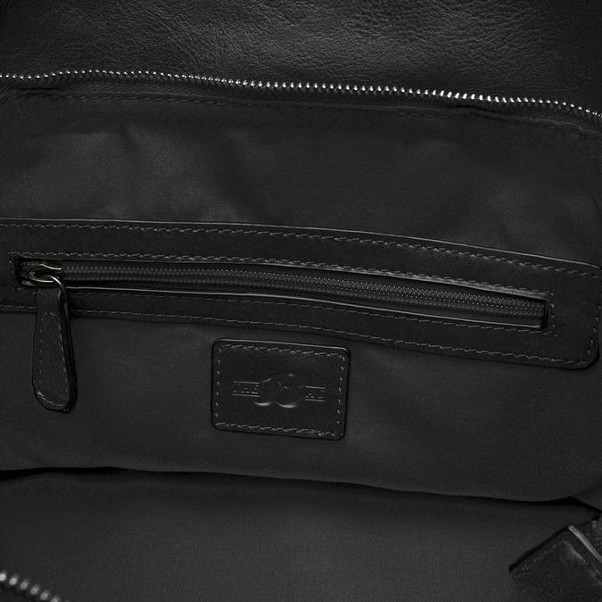 sac cabas à détail clouté bata, Noir, 961-6403 - 17