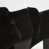 bottines à talons larges et fermeture éclair latérale bata, Noir, 793-6168 - 19