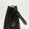 sac à main hobo pour femme à anse chaînette bata, Noir, 961-6203 - 26