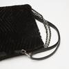 sac hobo à fourrure bata, Noir, 969-6197 - 15