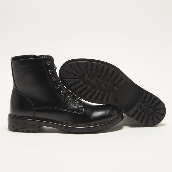 bottines en cuir homme bata, Noir, 891-6215 - 19