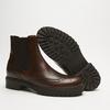 bottines en cuir à surpiqûre visible bata, Brun, 594-4832 - 19