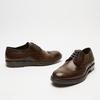chaussures basses brogue en cuir bata, Brun, 824-4300 - 16