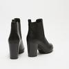 bottines à talons larges bata, Noir, 791-6130 - 17